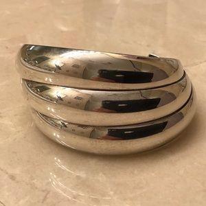 Triple C, Sterling Silver cuff bracelet